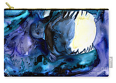 Moon Eater Dragon Lunar Eclipse Carry-all Pouch
