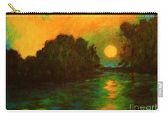 Moon Glow Carry-all Pouch by Alison Caltrider