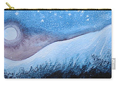 Carry-all Pouch featuring the painting Moon Glow by Margaret Bobb