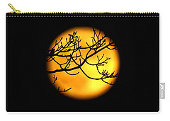 Moon In The Trees Carry-all Pouch