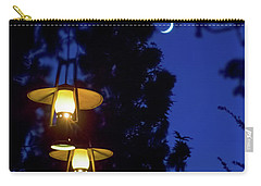 Carry-all Pouch featuring the photograph Moon Lanterns by Mark Andrew Thomas