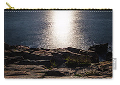Moon Over Acadia Shores Carry-all Pouch