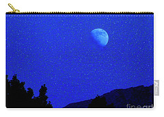 Moon Over Black Mesa II Carry-all Pouch
