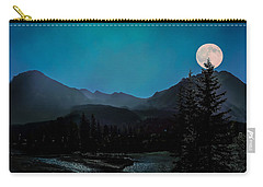 Moon Over Field Bc Carry-all Pouch
