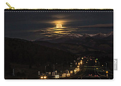 Moon Over Genessee Carry-all Pouch
