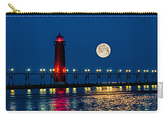Moon Over Grand Haven Carry-all Pouch
