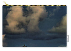Moon Over Lighthouse Carry-all Pouch