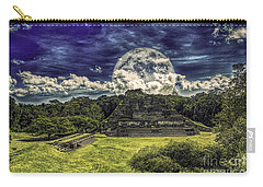 Moon Over Mayan Temple Two Carry-all Pouch