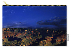 Moon Over The Canyon Carry-all Pouch by Anthony Jones