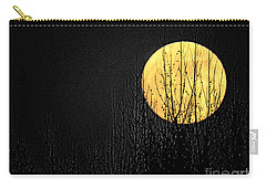 Moon Over The Trees Carry-all Pouch