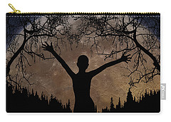 Moon Rising Carry-all Pouch by Peter Piatt