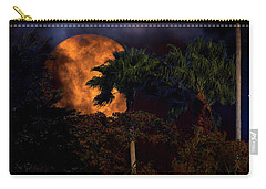 Carry-all Pouch featuring the photograph Moon River by Mark Andrew Thomas