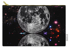 Carry-all Pouch featuring the photograph Moon River by Naomi Burgess