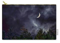 Moon Shine Over The Okanagan Carry-all Pouch