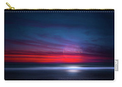 Moon Tide Carry-all Pouch by Mark Andrew Thomas