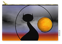 Mooncat's Waiting  Carry-all Pouch