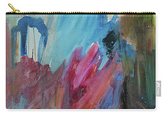 Carry-all Pouch featuring the painting Moonchaser by Robin Maria Pedrero