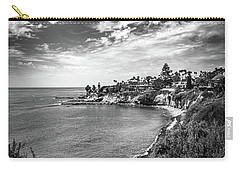 Carry-all Pouch featuring the photograph Moonlight Cove Overlook by T Brian Jones