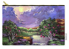 Moonlight In The Woods Carry-all Pouch