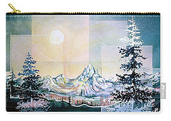 Moonlight Mountain Carry-all Pouch