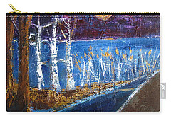 Moonlight On Path To Beach Carry-all Pouch