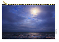 Moonlight On The Ocean At Hatteras Carry-all Pouch