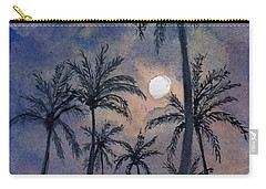 Moonlight Over Key West Carry-all Pouch