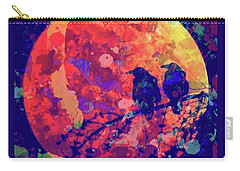 Moonlight Ravens Carry-all Pouch
