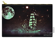Moonlight Sailing Carry-all Pouch