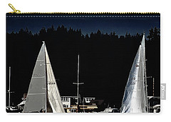Carry-all Pouch featuring the photograph Moonlight Sailing by David Patterson