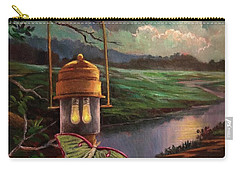 Moonlight, Silhouettes And Shadows Carry-all Pouch