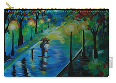 Moonlight Stroll Carry-all Pouch by Leslie Allen
