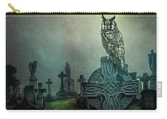 Carry-all Pouch featuring the photograph Moonlight Vigil by Brian Tarr