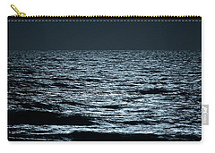 Moonlight Waves Carry-all Pouch by Nancy Landry