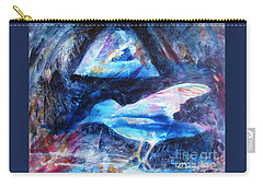 Moonlit Birds Carry-all Pouch by Denise Hoag