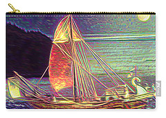 Carry-all Pouch featuring the photograph Moonlit Corbita I by Anastasia Savage Ealy