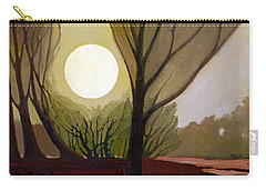 Carry-all Pouch featuring the painting Moonlit Dream by Donald Maier