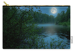 Carry-all Pouch featuring the photograph Moonlit by Rose-Marie Karlsen