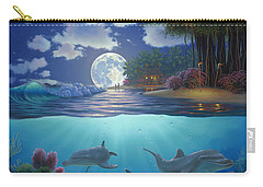 Moonlit Sanctuary Carry-all Pouch by Al Hogue