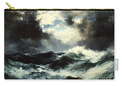 Moonlit Shipwreck At Sea Carry-all Pouch