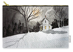 Moonlit Snow Carry-all Pouch