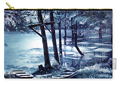 Moonlite On Village Creek Carry-all Pouch