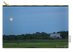 Moonrise At Grays Beach Carry-all Pouch