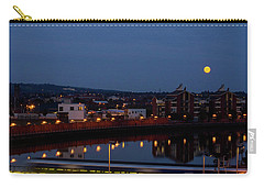 Moonrise In Belfast Carry-all Pouch