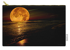 Moonrise Carry-all Pouch by James C Thomas