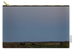 Moonrise Over Cheyenne Bottoms -01 Carry-all Pouch