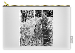 Moonrise Over The Mountain Carry-all Pouch by Will Borden