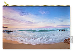 Carry-all Pouch featuring the photograph Bunker Bay Sunset, Margaret River by Dave Catley