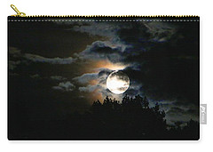 Moonset In The Clouds 2 Carry-all Pouch