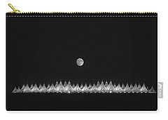 Moonset Over Dia Carry-all Pouch by Kristal Kraft